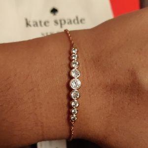 BNWT Kate Spade Rose Gold Bracelet